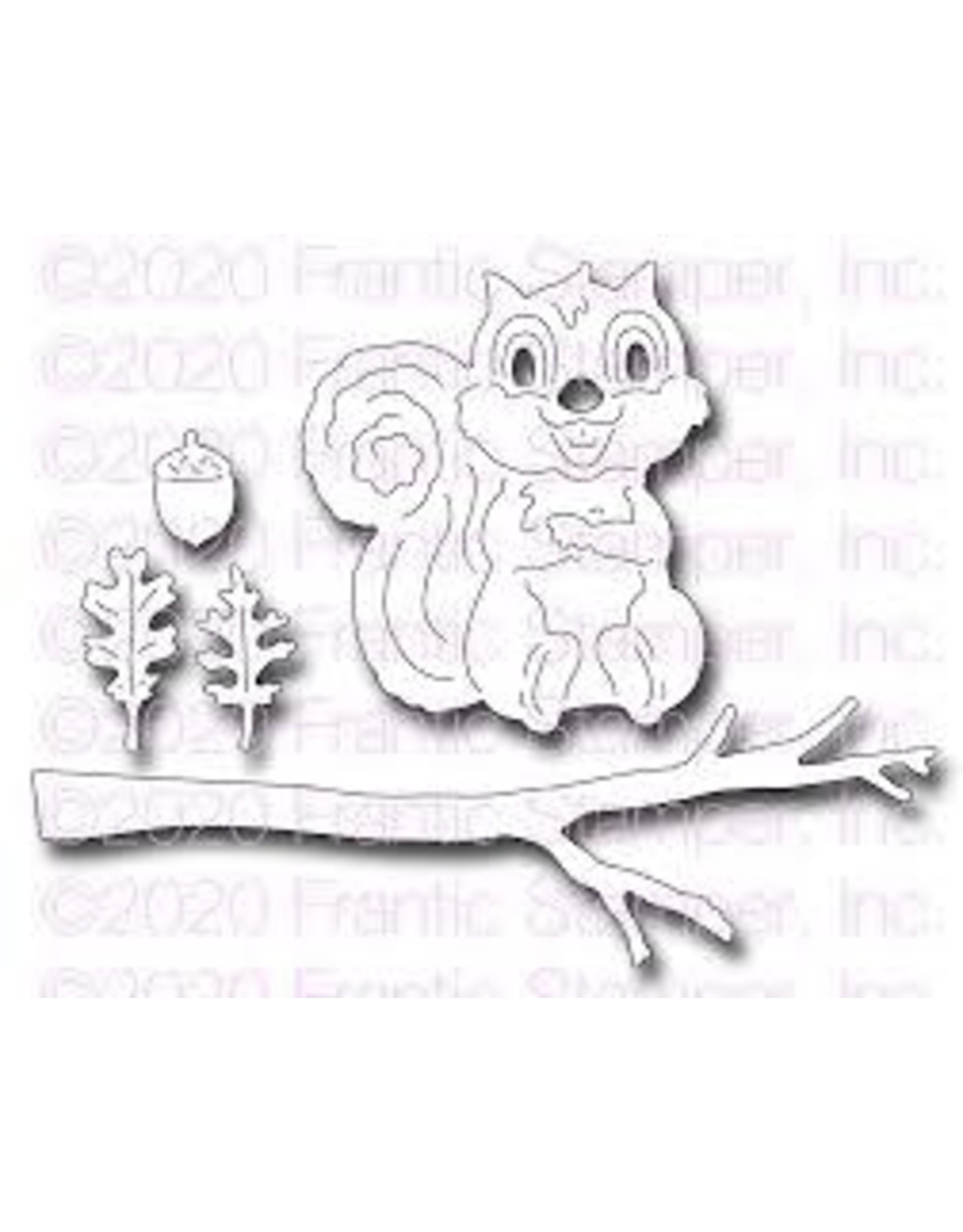 Frantic Stamper Inc Cute Squirrel Die Set