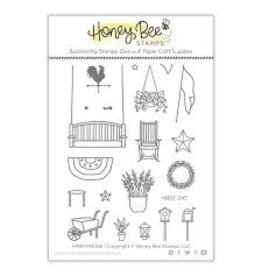 Honey Bee Stamps Farmhouse Add-On Clear Stamp Set