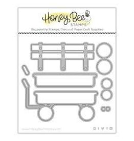 Honey Bee Stamps Little Red Wagon  - Honey Cuts