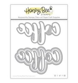 Honey Bee Stamps Coffee (Buzzword) - Honey Cuts Dies