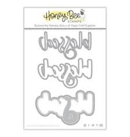 Honey Bee Stamps Blessed (Buzzword) - Honey Cuts Dies