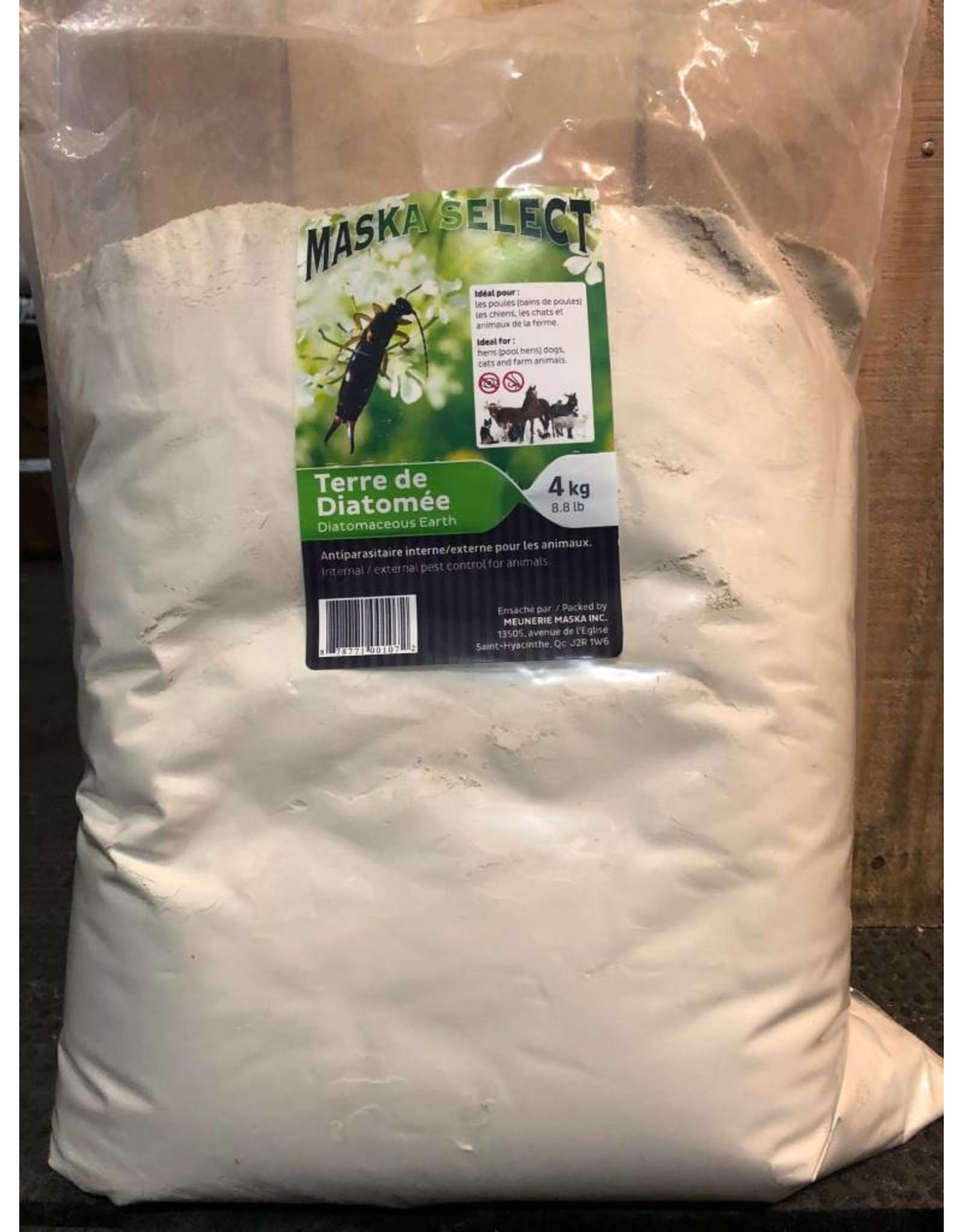 maska select Terre diatomée naturel 4 kg