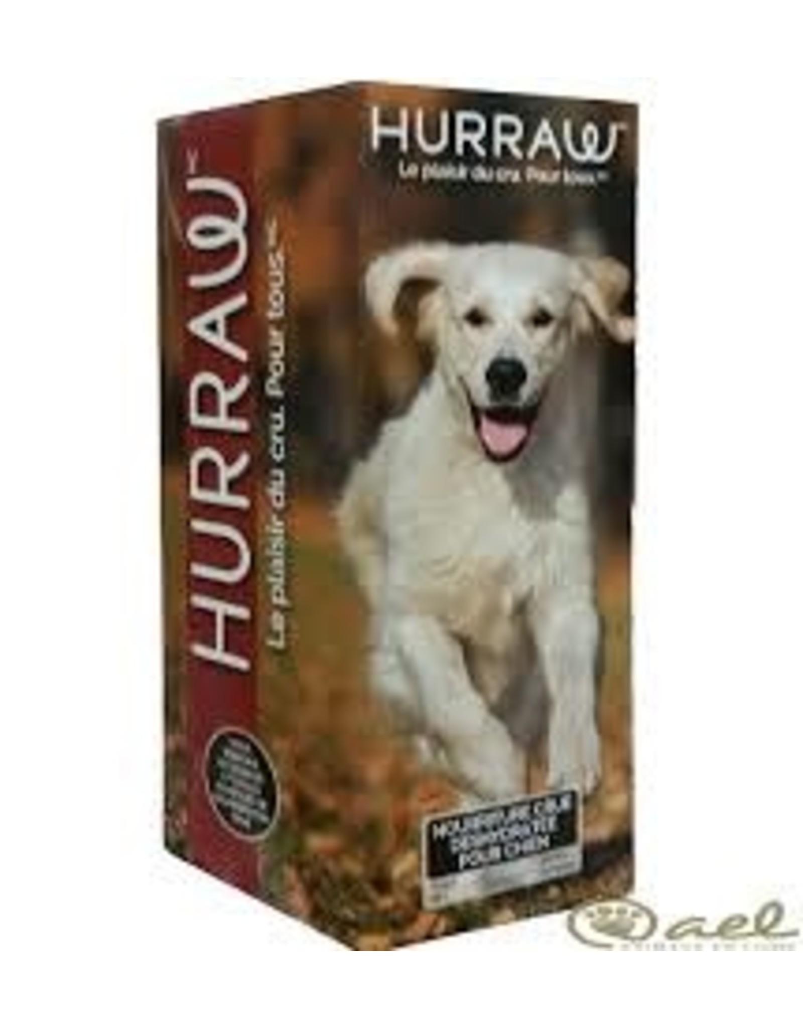 Hurraw Hurraw chien porc 2.5 Kg