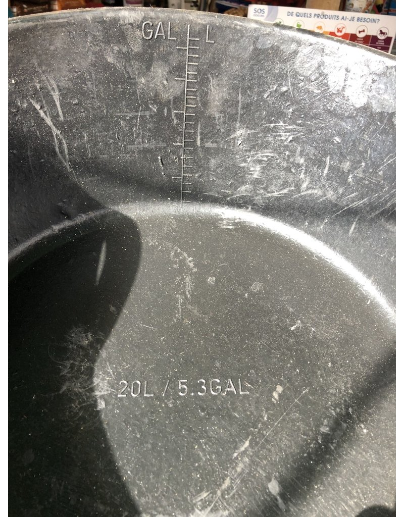 Panier de caoutcouc 20 L