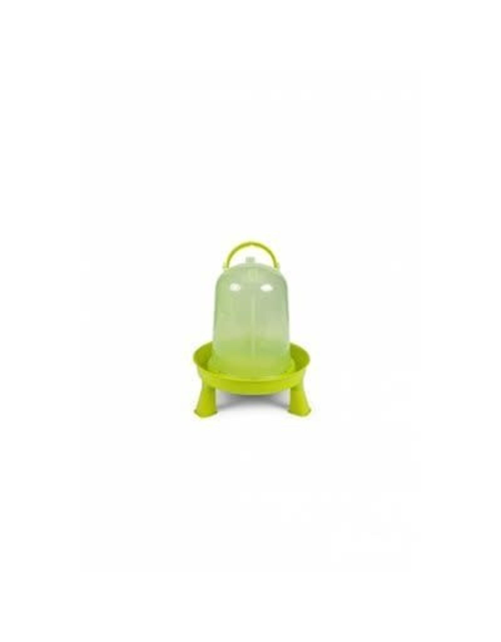 Gaun Abreuvoir volailles avec pieds, Eco. 3 L vert lime