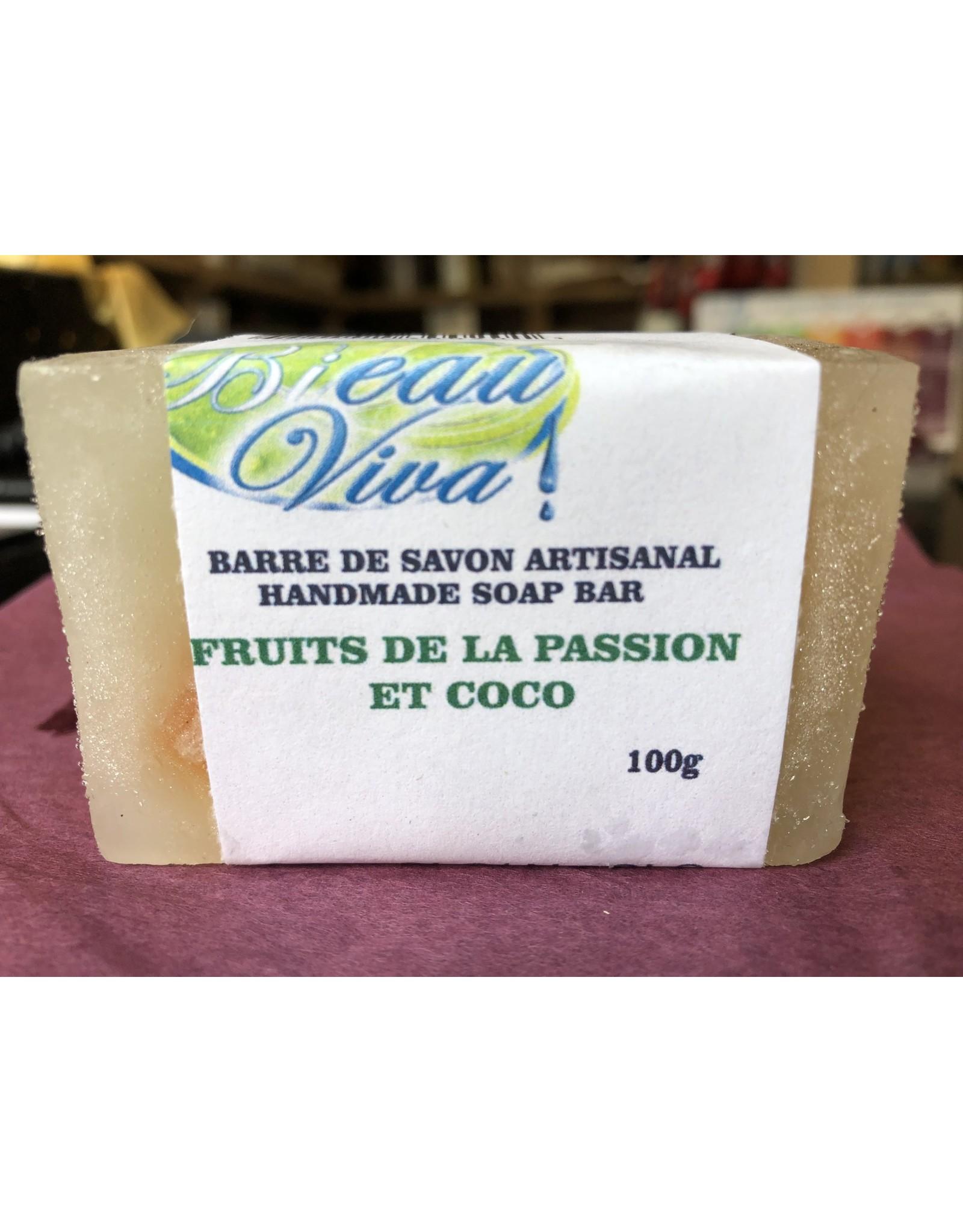 Bieau Viva Savon fruits de la passion et coco, 100 g