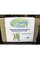 Savon en barre, Glycerine, Eucalyptus, 100 g
