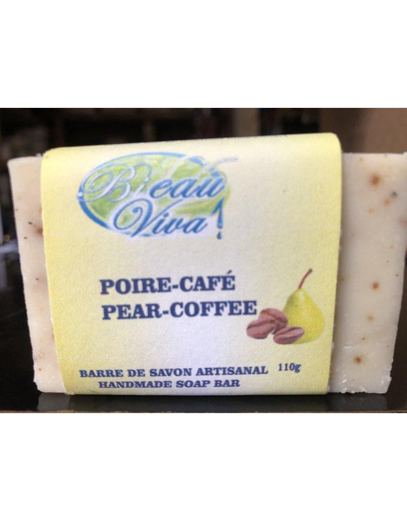 Bieau Viva Savon poire Café 110 gr