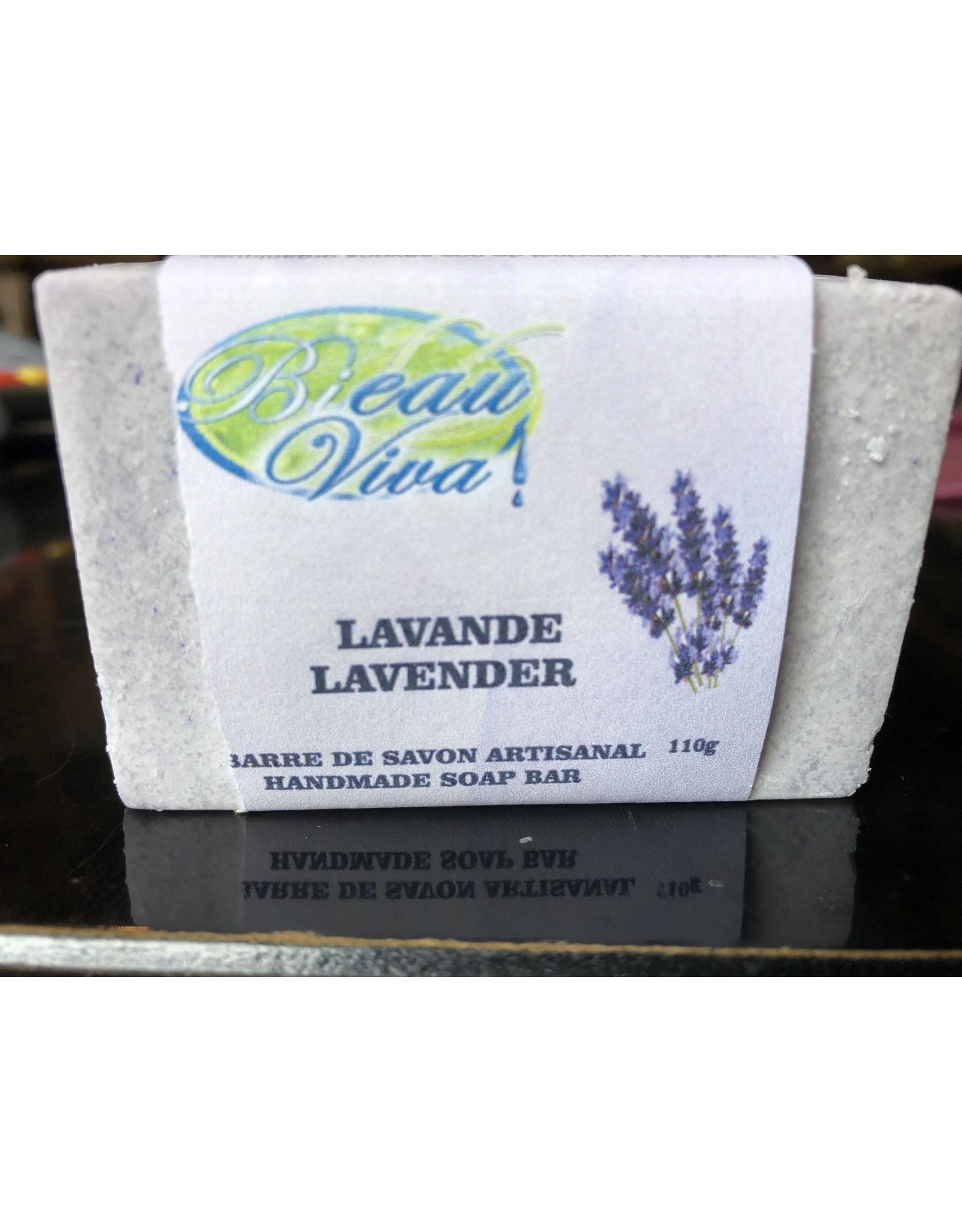 Bieau Viva Savon en barre, Lavande,110 gr