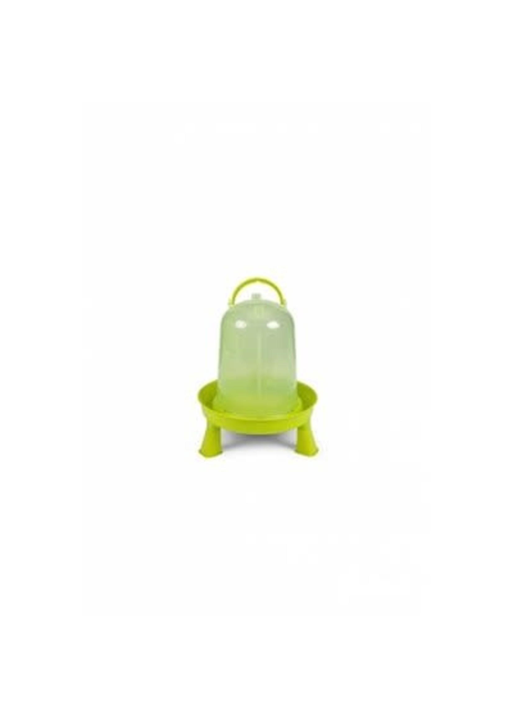 Gaun Abreuvoir volailles eco 5 L vert avec pied