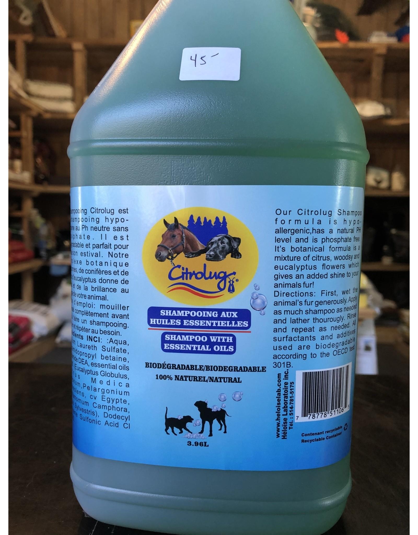 citrolug Shampooing pour animaux Citrolug 4 litres
