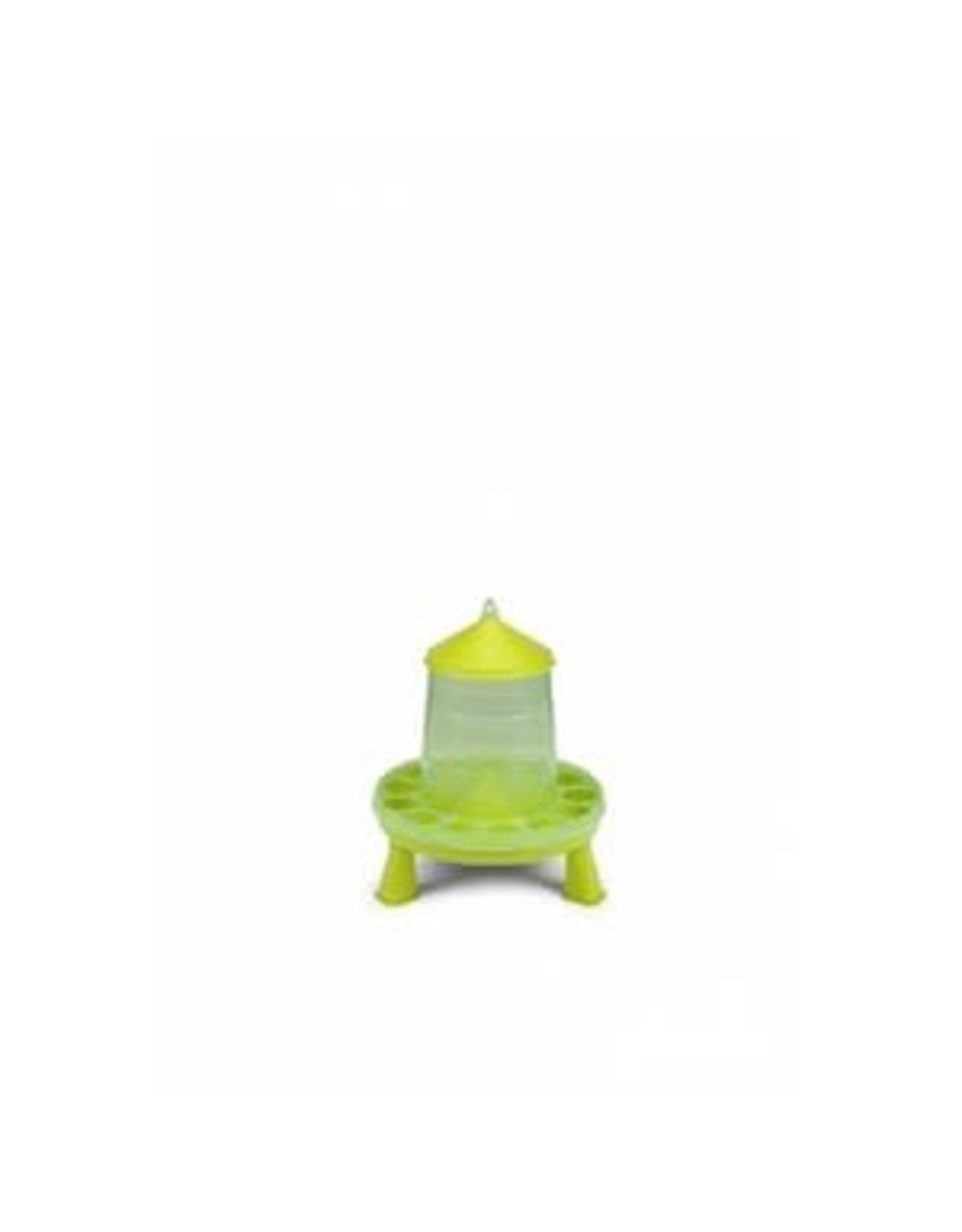 Gaun Trémie Volailles avec pieds, 8 kg, plastique, vert lime