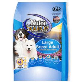 Nutri-Source NS chien adulte ,grande race, poulet et riz 13.6 kg