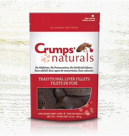 Crumps Crumps chien filets de foie de boeuf cuits 2.4 oz