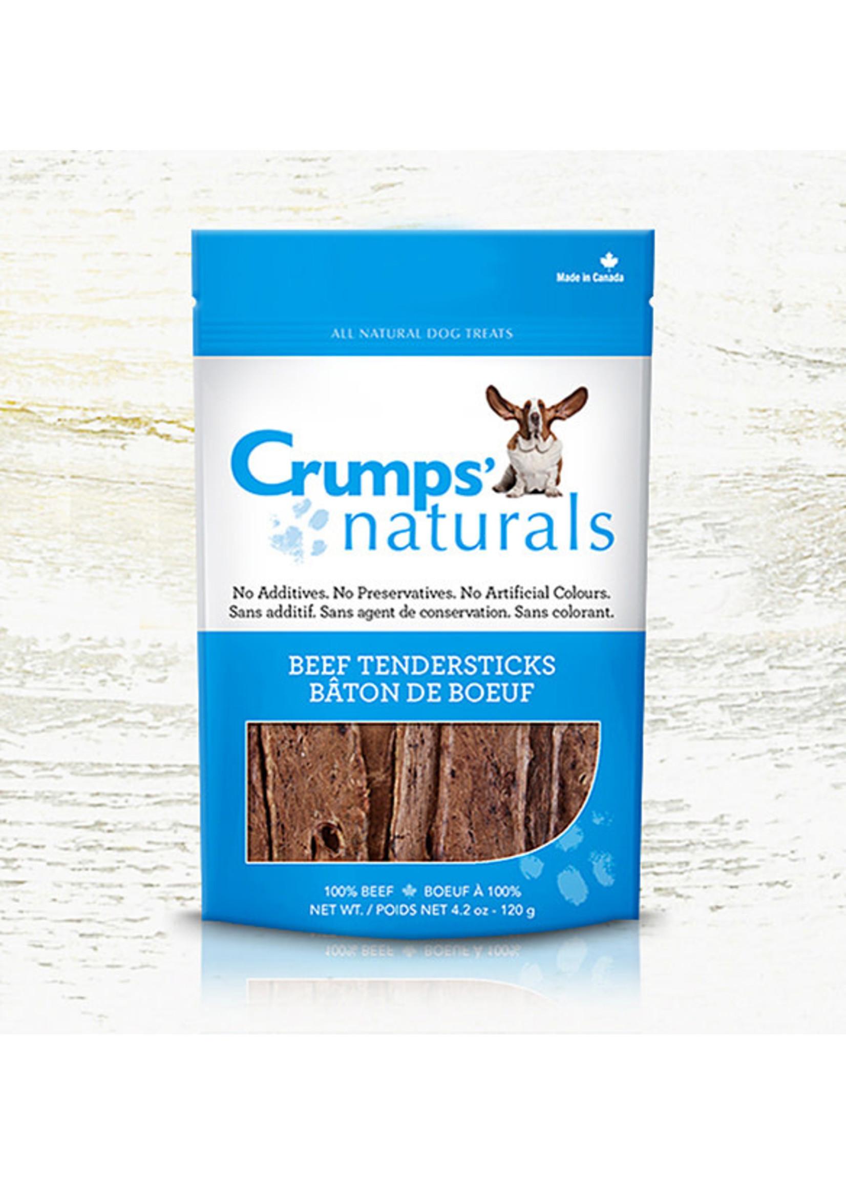 Crumps Crumps chien bâtonnets de poumon de boeuf 4.2oz