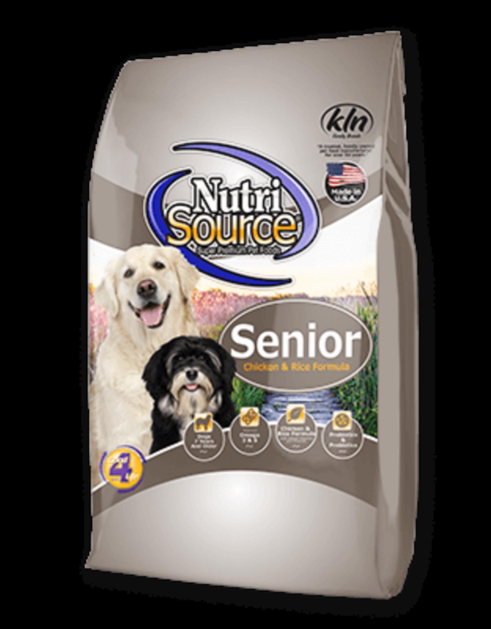 Nutri-Source Nutri-Source chien senior poulet & riz 5 lbs
