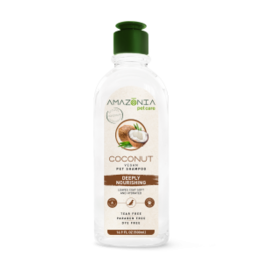 Amazonia Amazonia Chien & chat Shampoing coconut, nourrissant en profondeur 16.9 oz