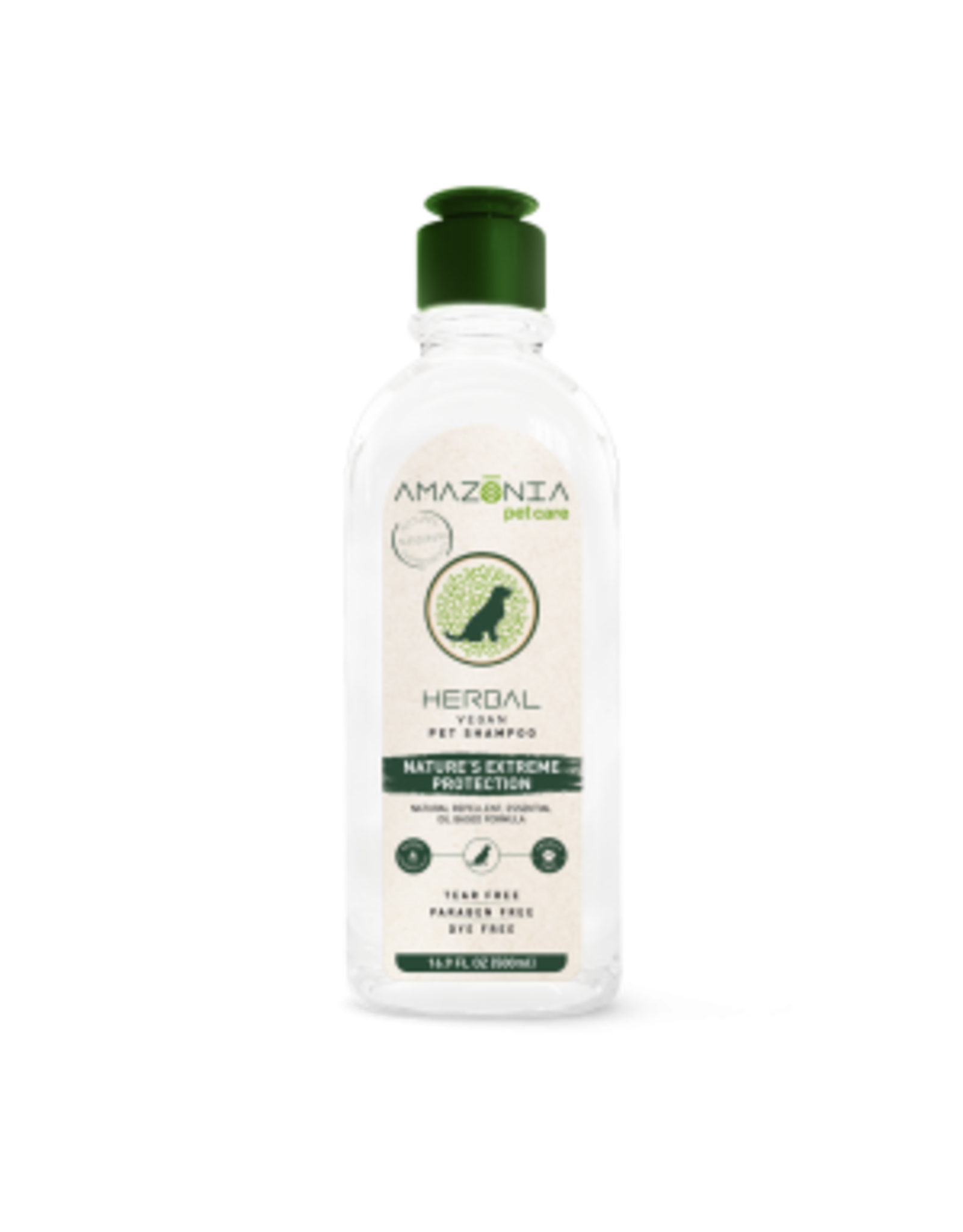 Amazonia Amazonia chien & chat Shampoing herbal, protection aux herbes, 16.9 oz