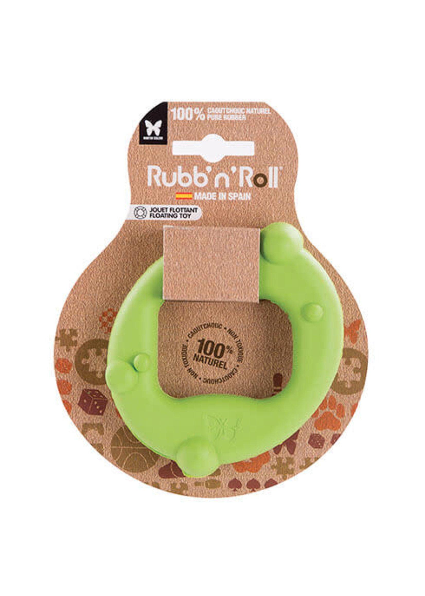 RUBB'N'ROLL RUBB N ROLL jouet cercle vert