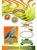 zoomax ZOOMAX FRUIT-TIES - BUDGIE 250gr