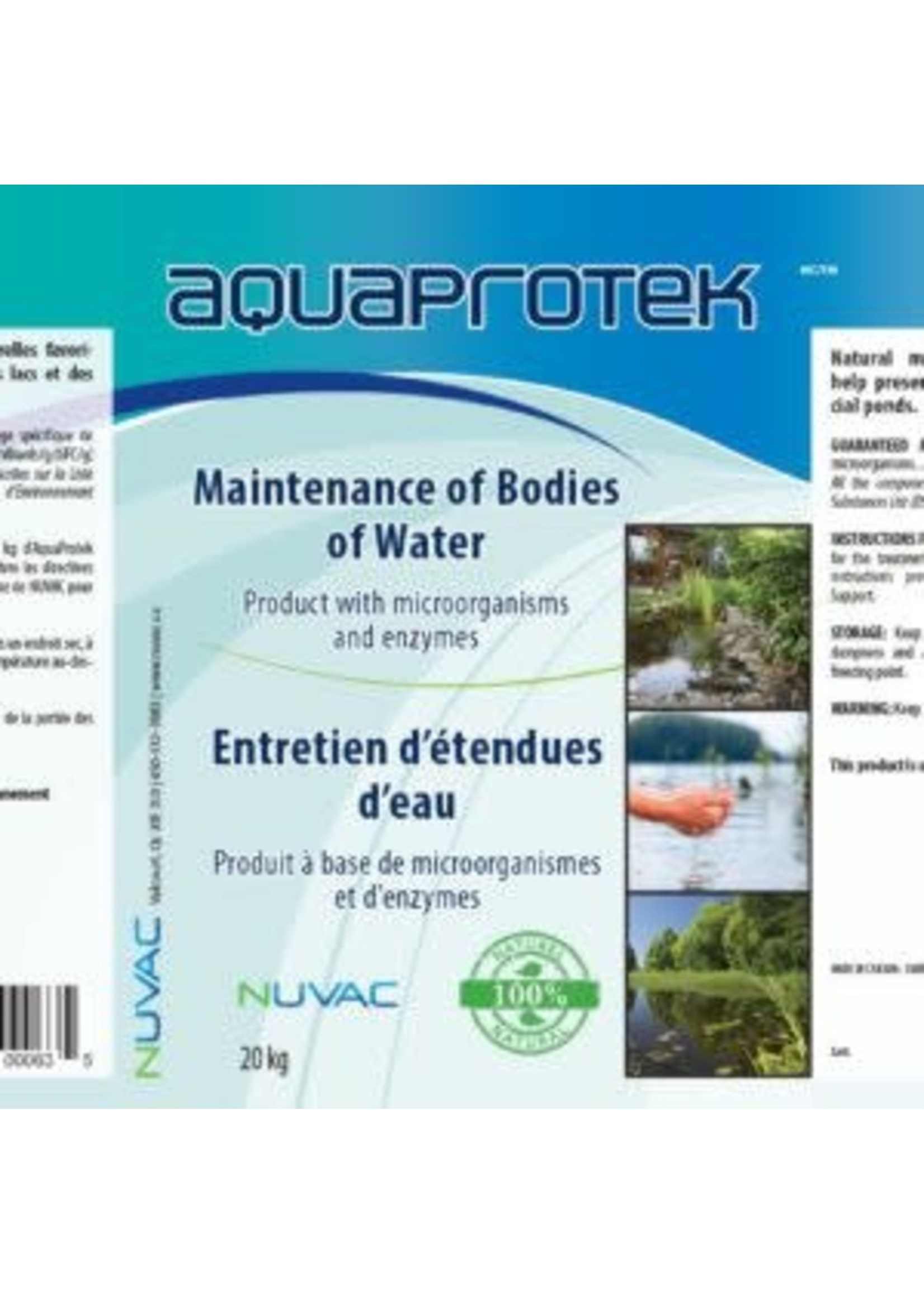 Nuvac Aquaproteck 28 g X 12