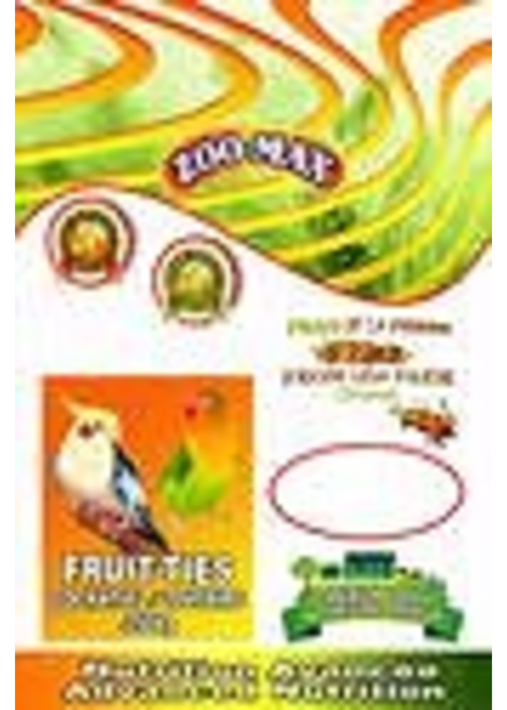 zoomax Zoomax Fruit-ties cockatiel 250 g