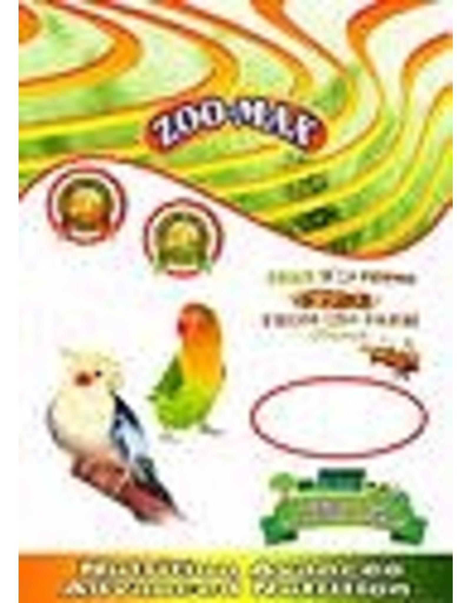 Zoomax econo-max oiseaux cockatiel- inséparable 908 kg