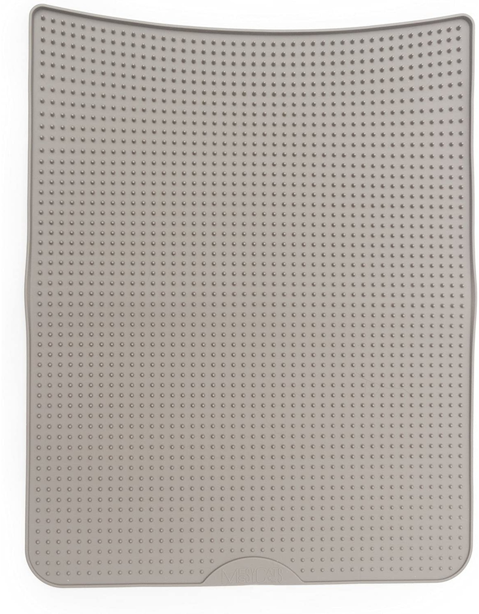 Messy Cats MESSY CATS tapis litiere silicone, gris