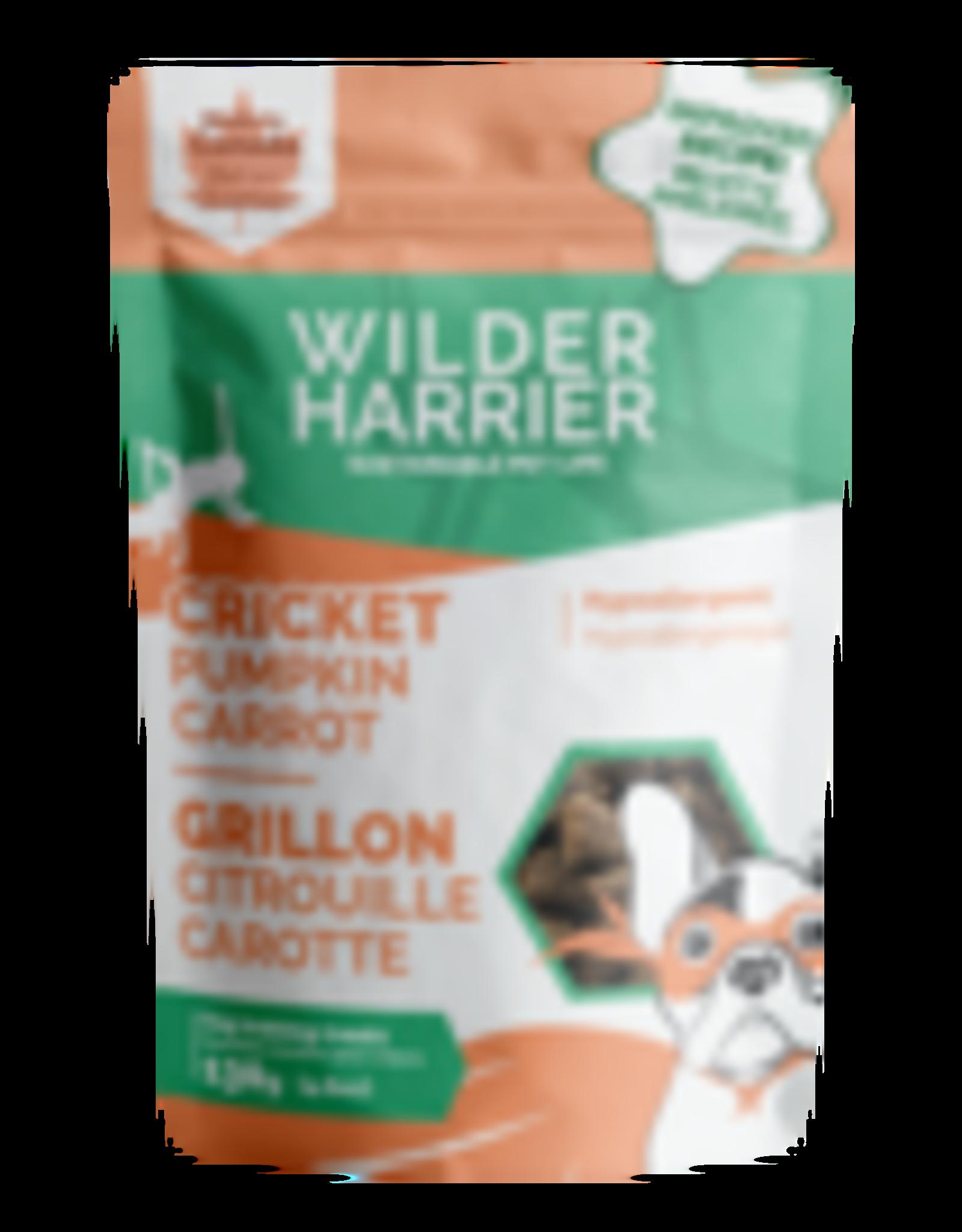 Wilder Harrier Wilder Harrier chien gâteries tendres-grillon, citrouille et carottes 130 gr