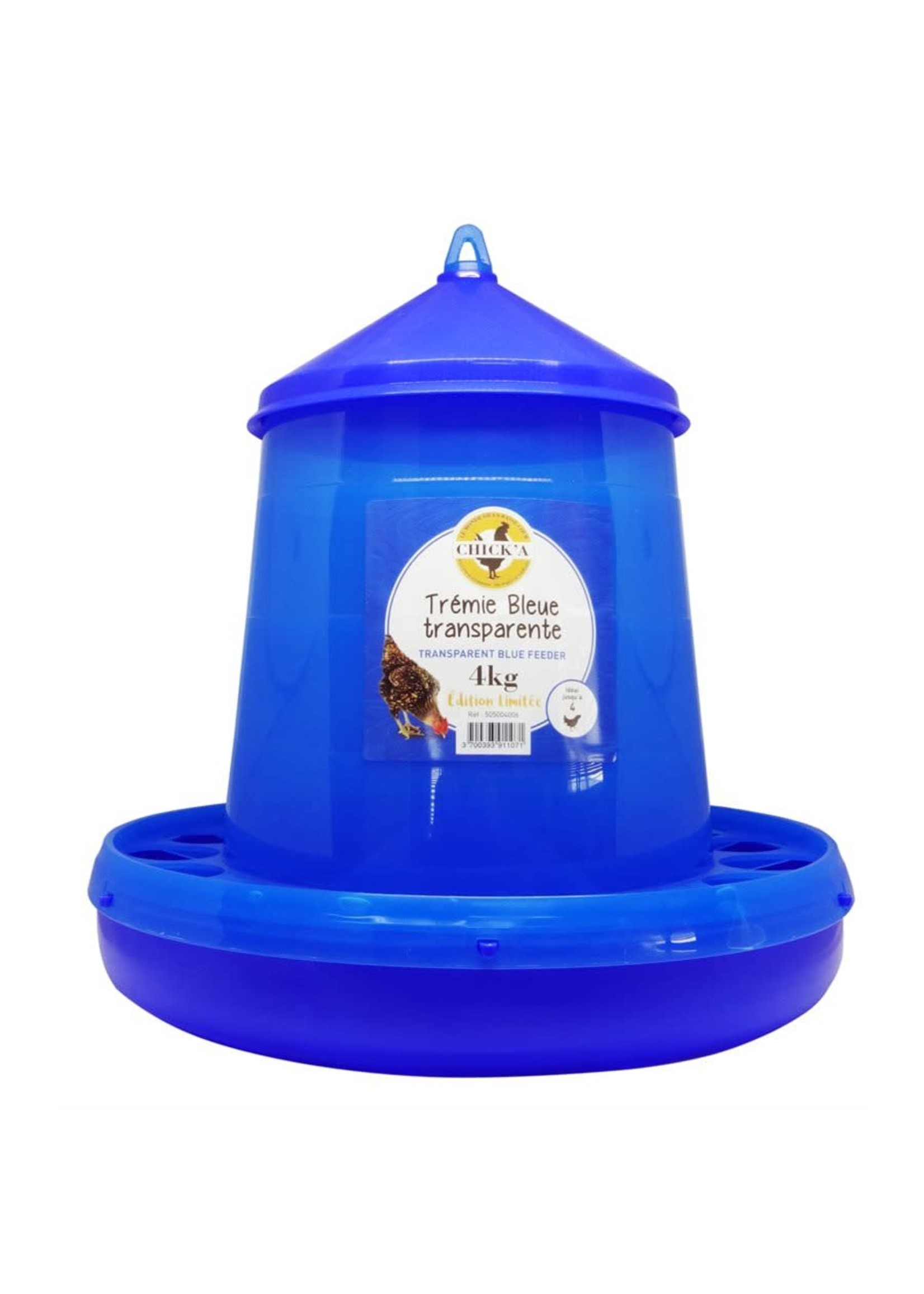 Chick A Trémie 4 kg Bleu spécial édition U