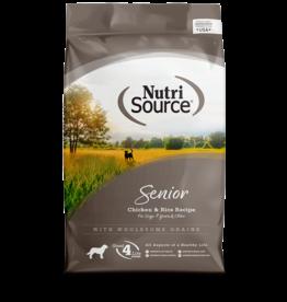 Nutri-Source NS chien senior poulet & riz 30 lbs