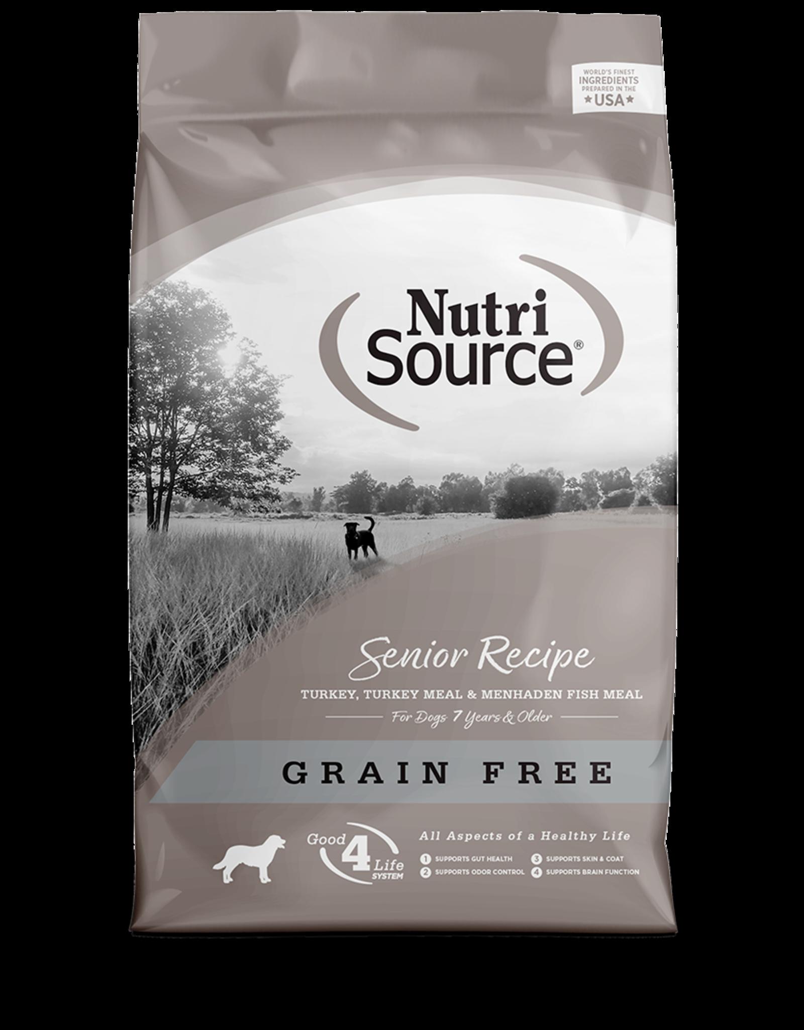 Nutri-Source NS chien senior SG /contrôle de poids 13 kg