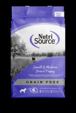 Nutri-Source NS chiot sans grain, pet/moy race, 15 lbs, 6.8 kg