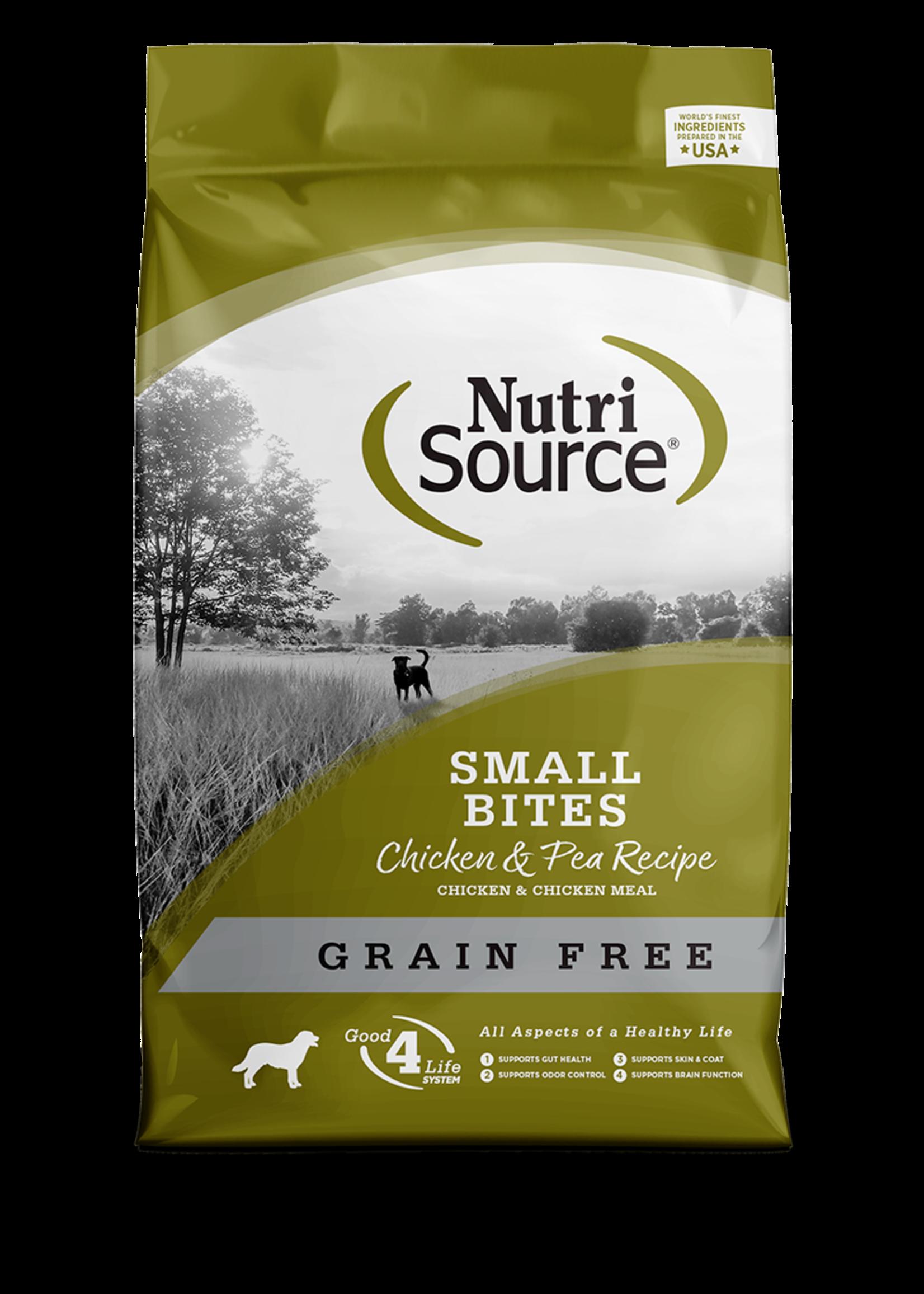 Nutri-Source Nutri-source chien petite race poulet sans-grain 2.26 kg, 5 lbs