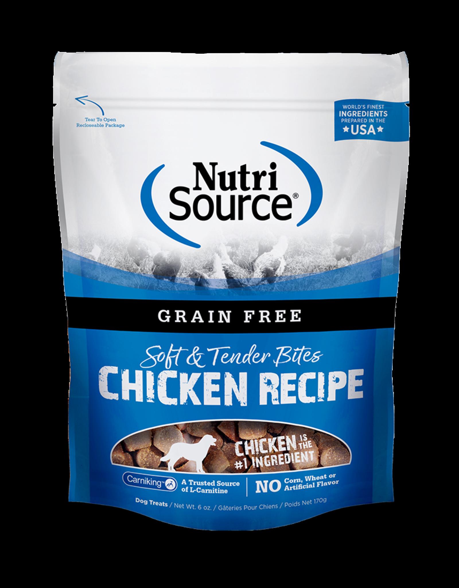 Nutri-Source NS Tendre bouchée chien SG poulet, 179 g/ 6 oz