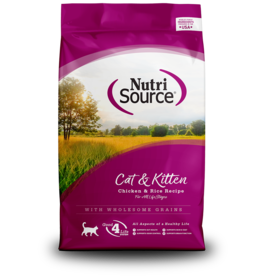 Nutri-Source NS chat , poulet et riz 6.6 lbs