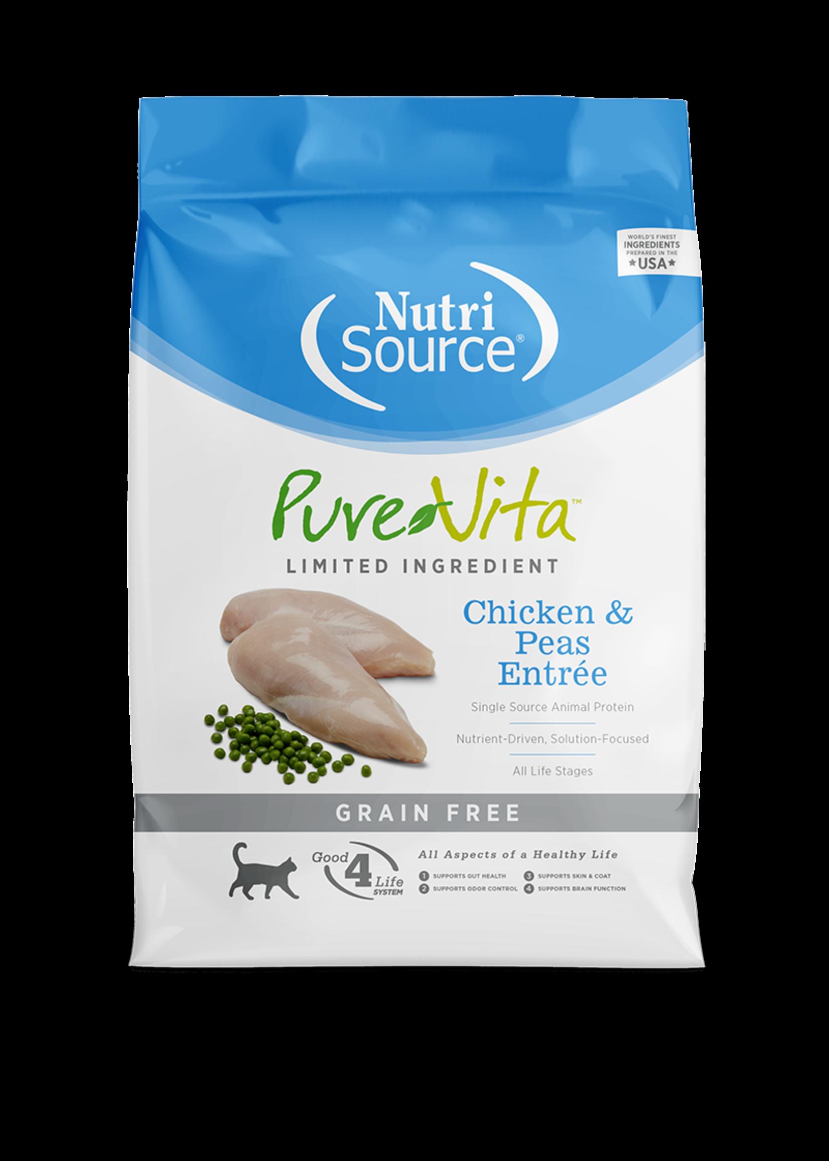 NutriSource PV chat sans grain poulet 6.8kg