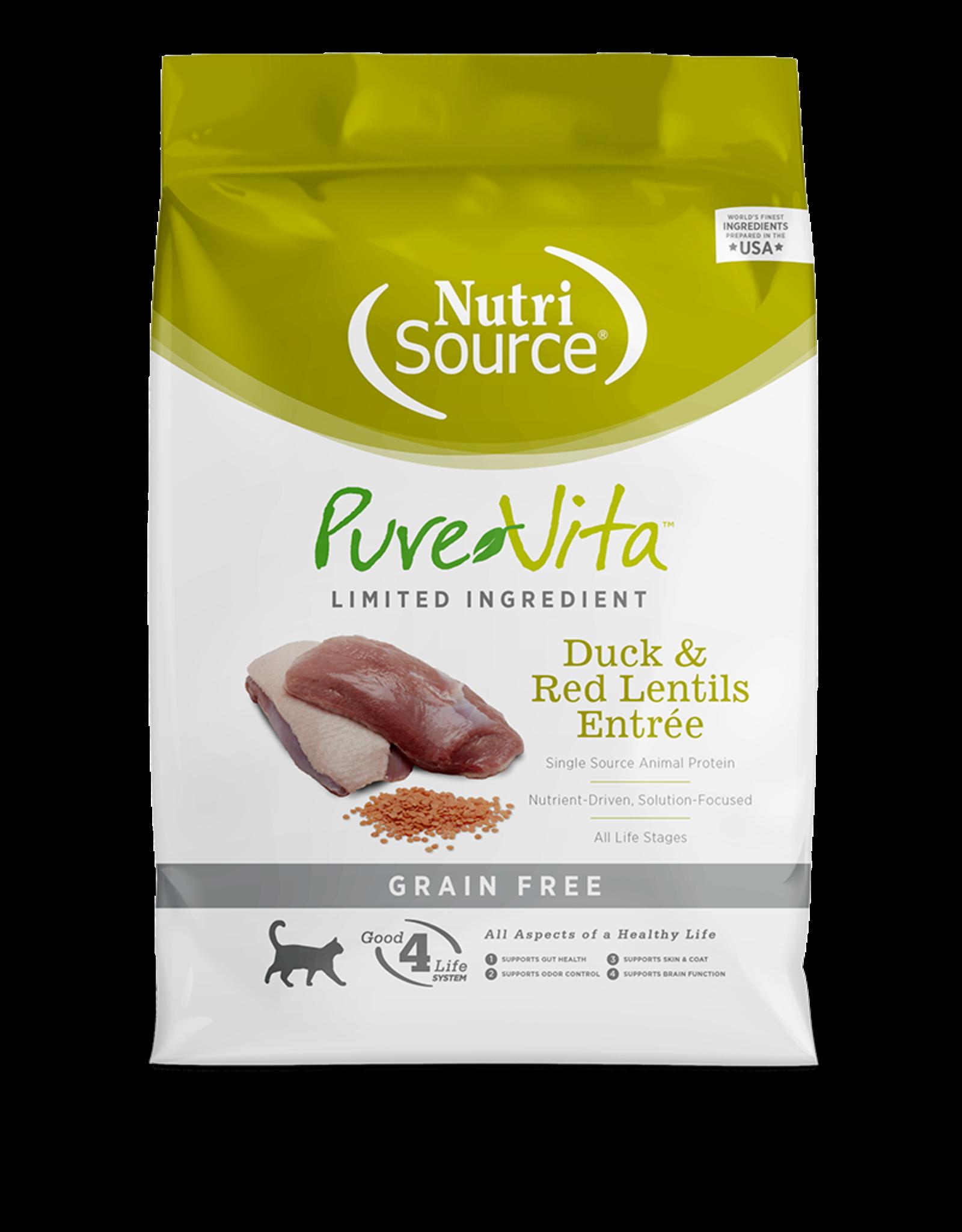 Pure Vita PV chat SG canard & lentilles 3 kg