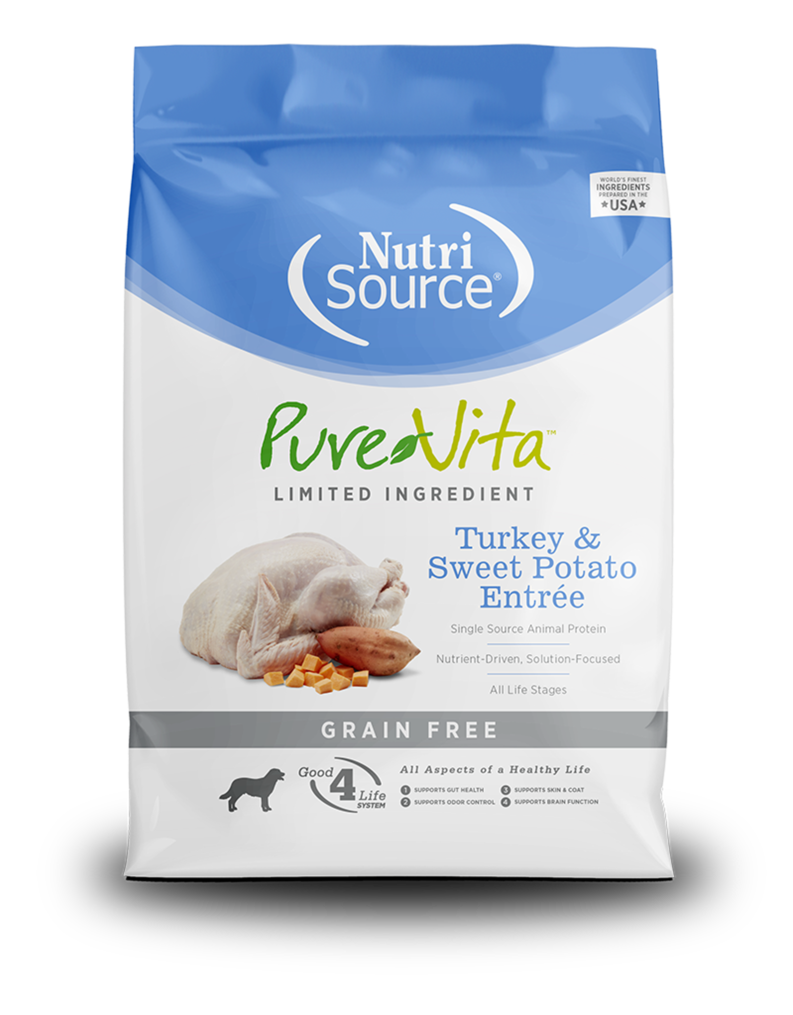 Pure Vita PV chien SG Dinde/patate douce & pois 2.3 kg