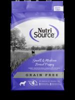 Nutri-Source NS Chiot sans grains petite/moyenne race 30 lbs