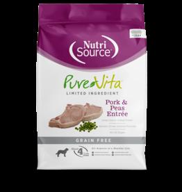 Pure Vita PV Chien Sans grain Porc & pois  11.34kg