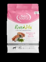 NutriSource Pure Vita, chien , SG saumon, 11.34 kg
