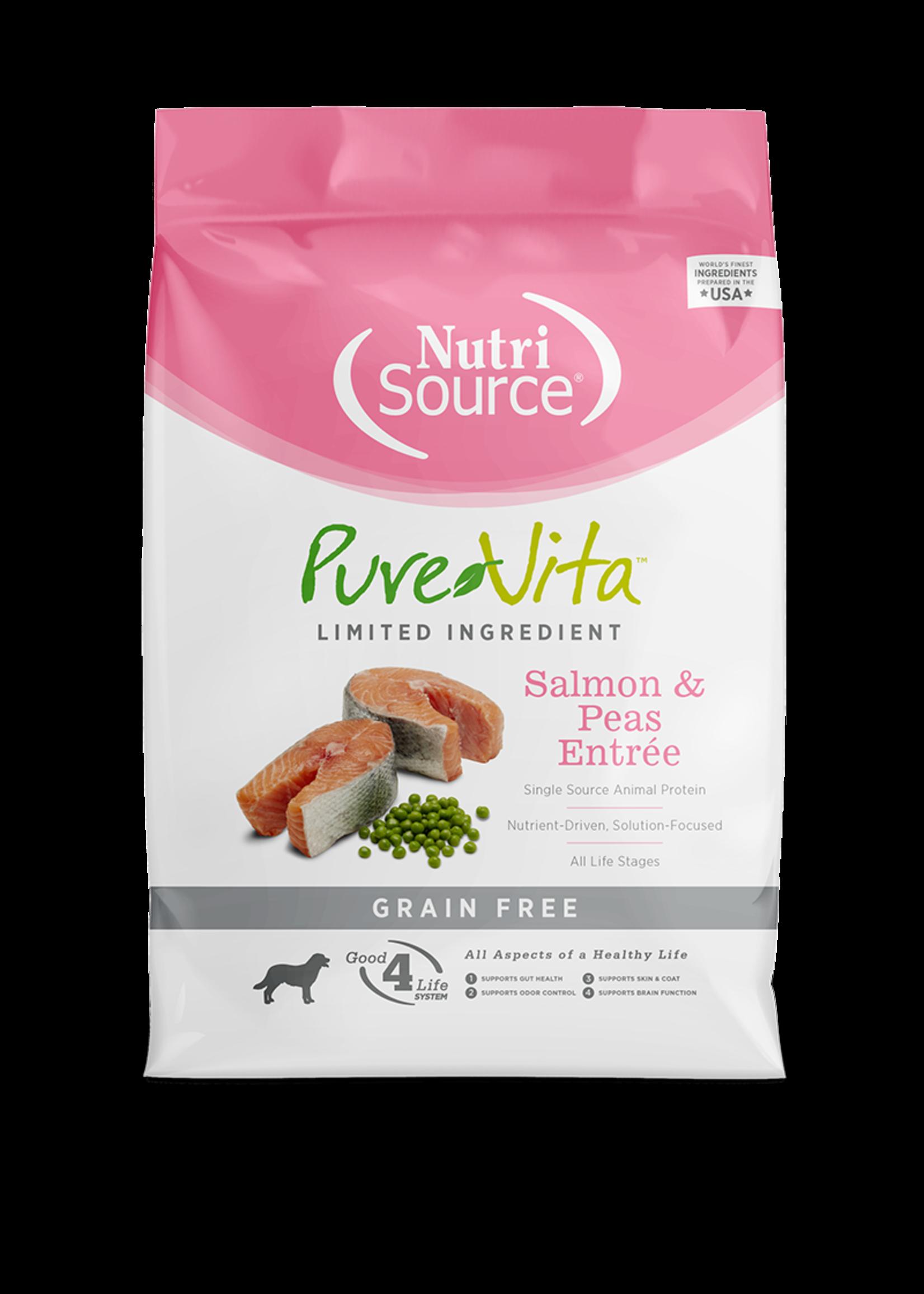 Pure Vita Pure Vita, chien , SG saumon, 11.34 kg