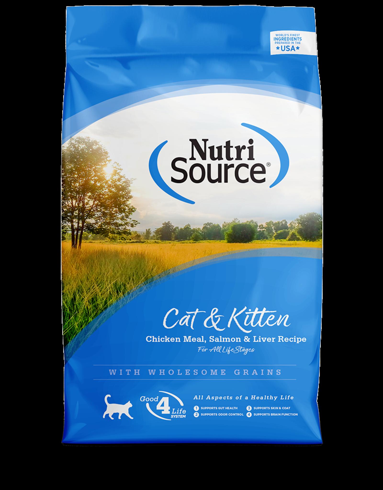 Nutri-Source NS chat/chatons poulet/foie/saumon 3 kg