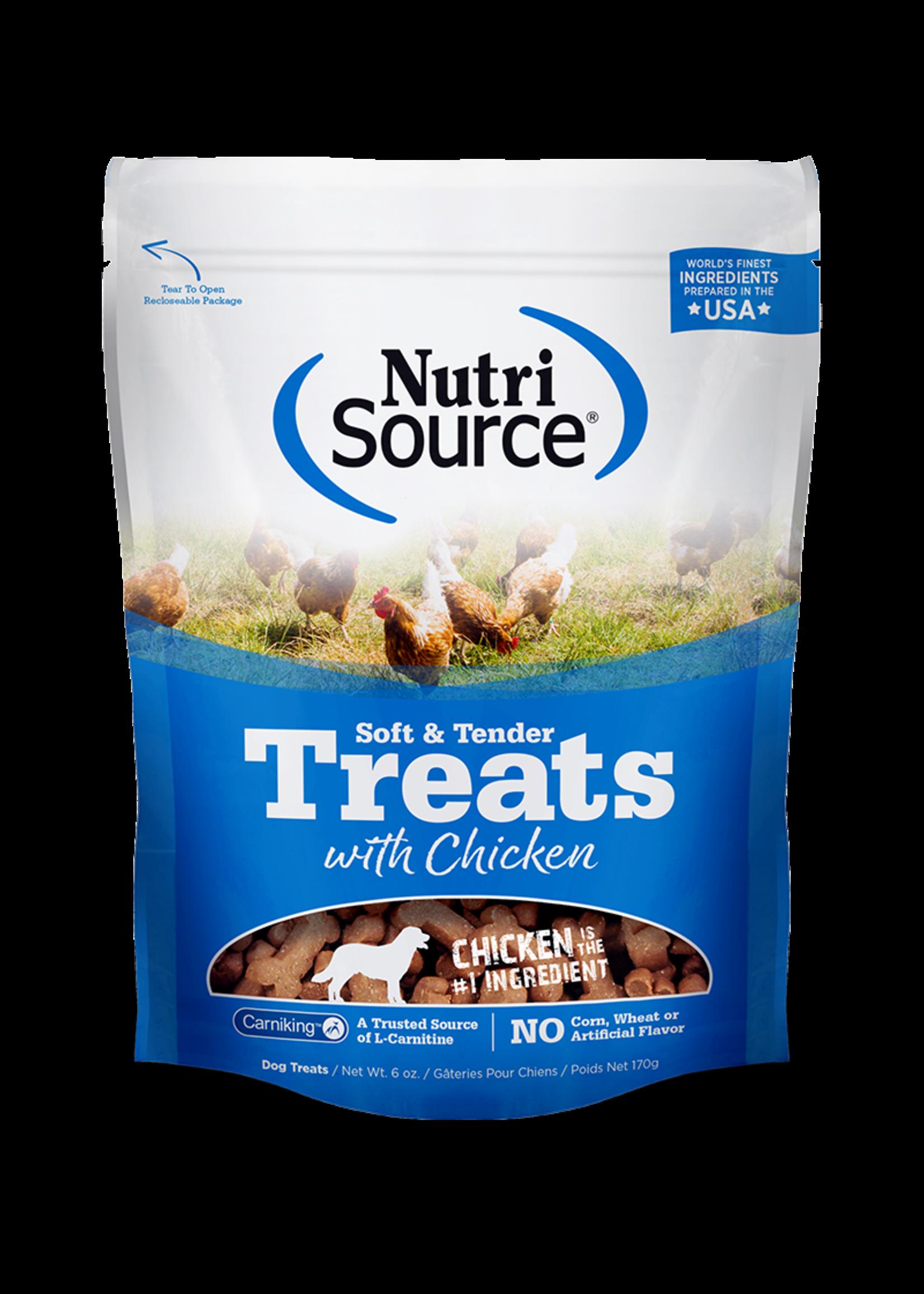 Nutri-Source NS Gâteries Tendres bouchée  chien poulet , 6 oz, 179g