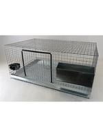 Ranch cunicole Ensemble de 2 cages a lapins, 24'' X  36 '' X  16''