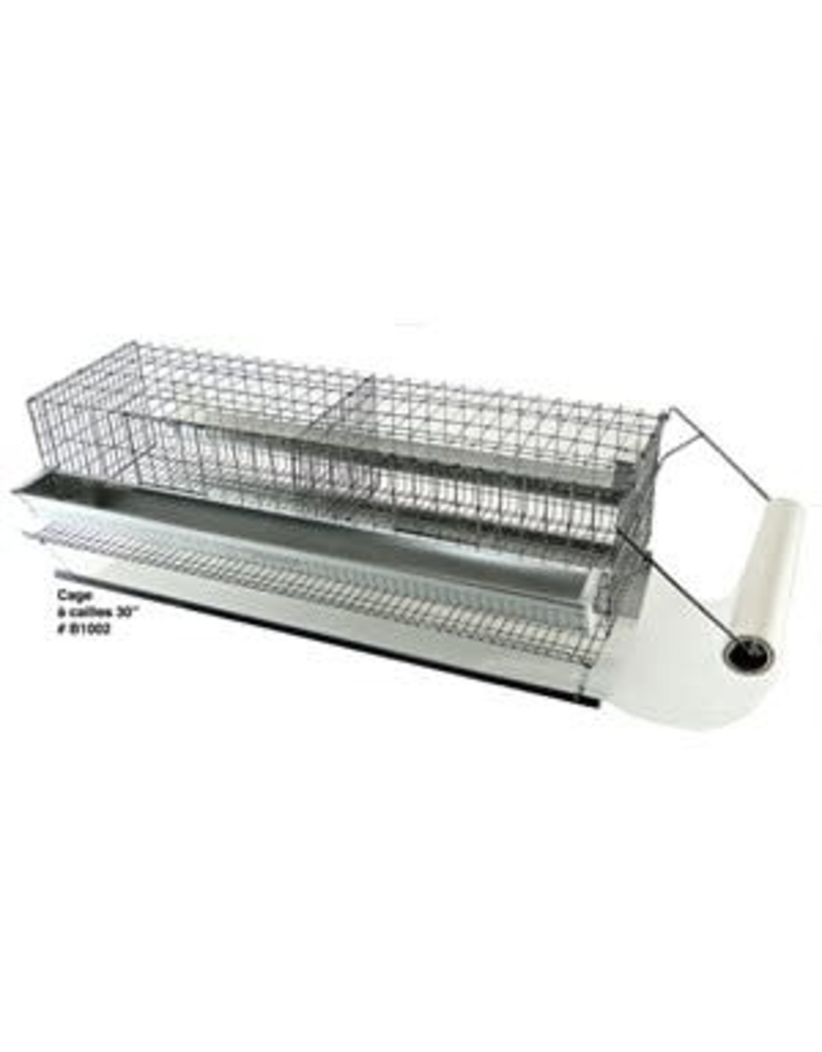 Ranch cunicole 2 cages a cailles 15 X 9