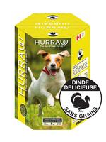 Hurraw Hurraw chien Dinde 10 kg