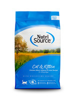 NutriSource NS chat/chaton, poulet /saumon/foie, 7.25 kg