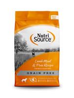 NutriSource Nutri source chien sans grain agneau 30 lbs